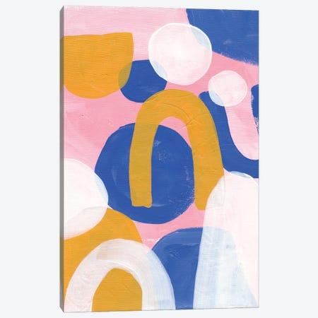 Pink Prom Canvas Print #ENS103} by EnShape Canvas Art Print