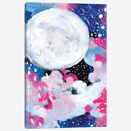 Magic Moon Canvas Print #ENS106} by EnShape Canvas Artwork