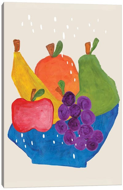 Fruit Bowl Canvas Art Print