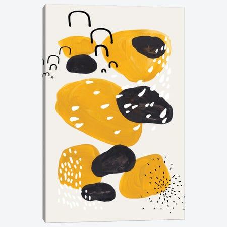 Leopard Party Canvas Print #ENS187} by EnShape Canvas Art
