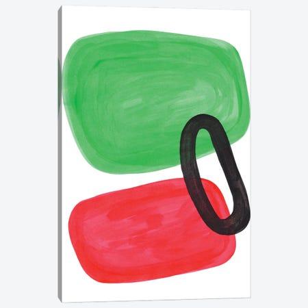 Watermelon Ring Canvas Print #ENS200} by EnShape Canvas Wall Art