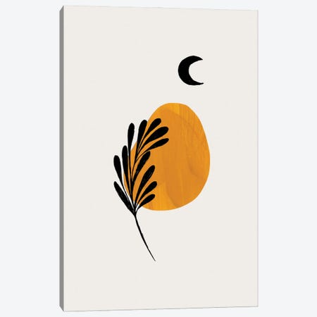 Moon Plant Canvas Print #ENS228} by EnShape Canvas Artwork