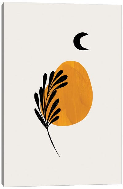 Moon Plant Canvas Art Print