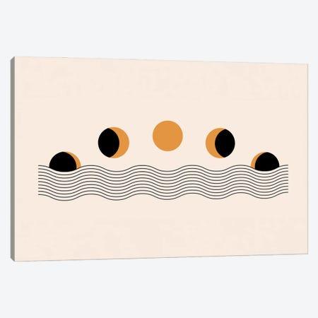 Sun Eclipse Canvas Print #ENS240} by EnShape Canvas Art
