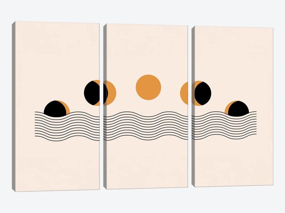 Sun Eclipse by EnShape 3-piece Art Print