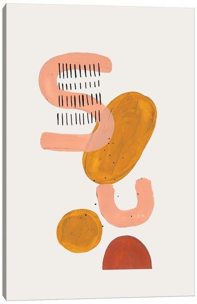 Floating Tan Secret Canvas Art Print