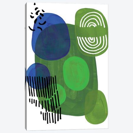 Alligator Canvas Print #ENS250} by EnShape Art Print