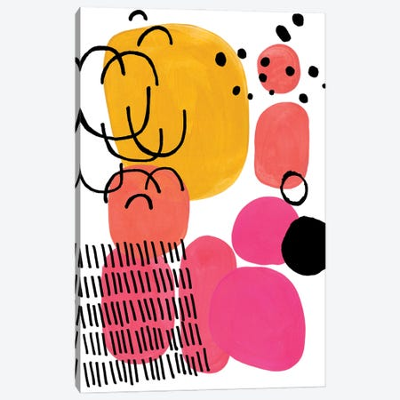 Hard Candy Canvas Print #ENS251} by EnShape Canvas Print
