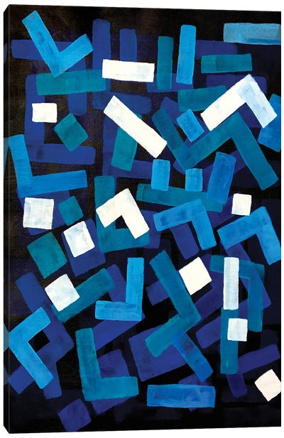 Blue Jazz Canvas Art Print