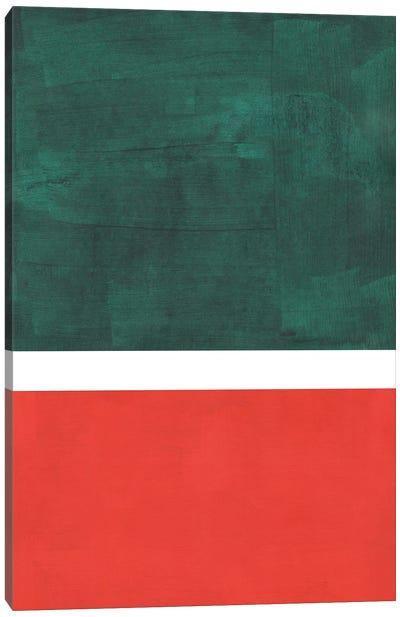 Watermelon Rothko Remake Canvas Art Print