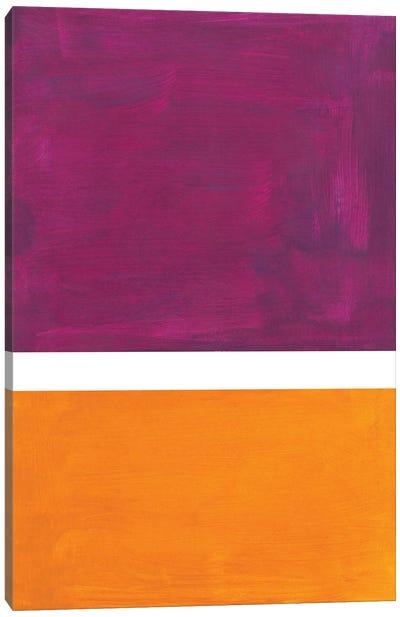 Purple Rothko Remake Canvas Art Print