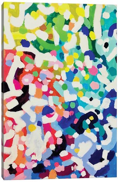 Rainbow Bloom Canvas Art Print