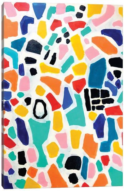 Rainbow Mosaic Canvas Art Print