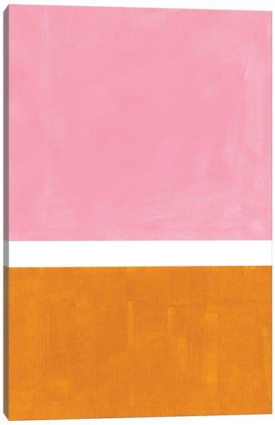 Pastel Pink Rothko Remake Canvas Art Print
