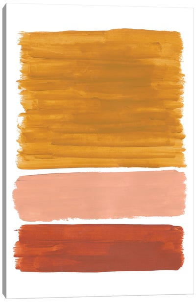 Earthy Rothko Remake Canvas Art Print