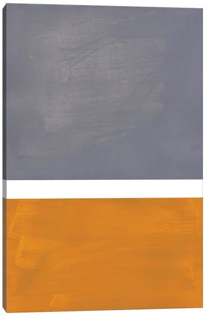 Grey Rothko Remake Canvas Art Print