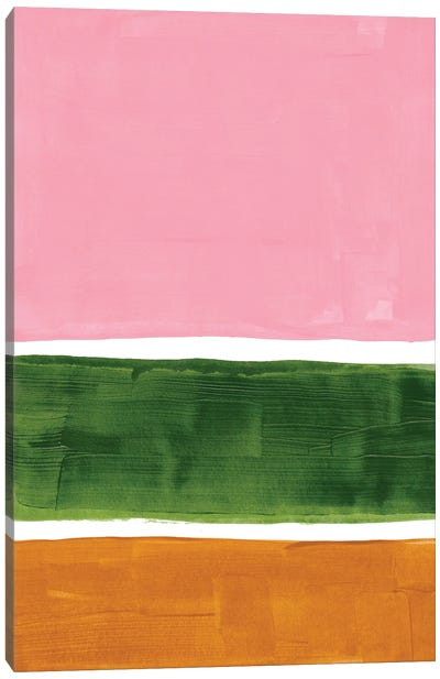 Spring Rothko Remake Canvas Art Print