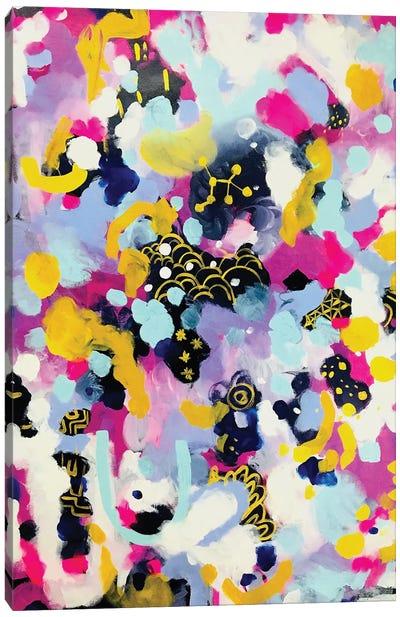 Unicorn Nebula Canvas Art Print