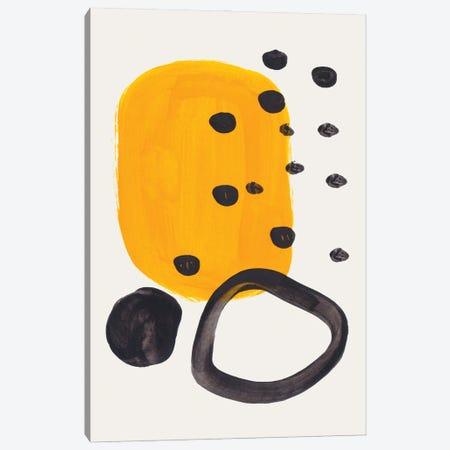 Mustard Ring Canvas Print #ENS300} by EnShape Canvas Print