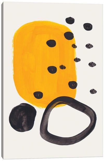 Mustard Ring Canvas Art Print