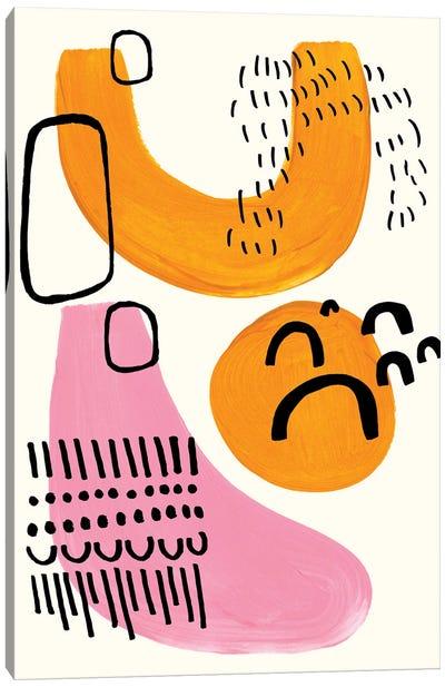 Pink Yeti Canvas Art Print
