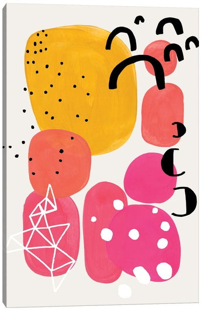 Magenta Candy Canvas Art Print