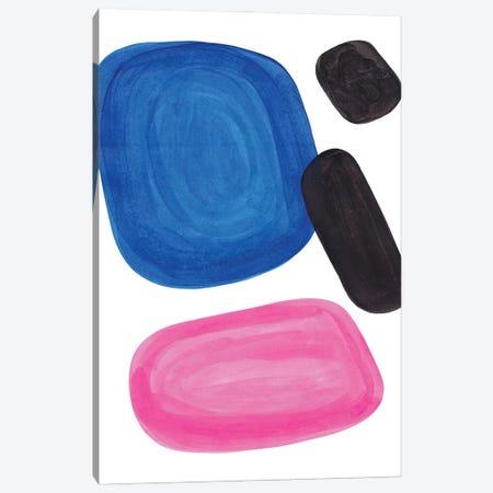 Magenta Blue Canvas Print #ENS307} by EnShape Canvas Art