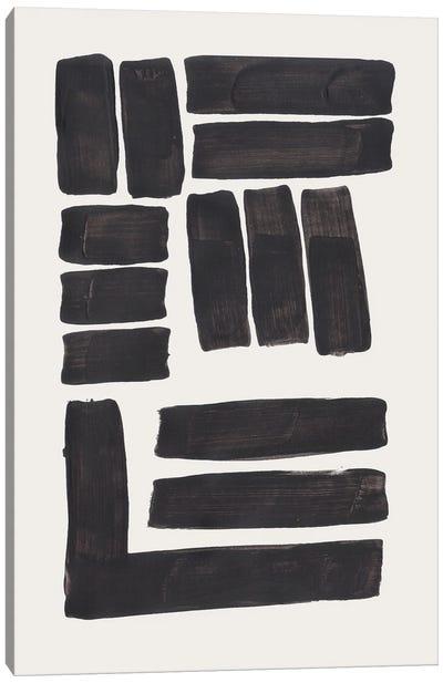 Ink Weaving Canvas Art Print