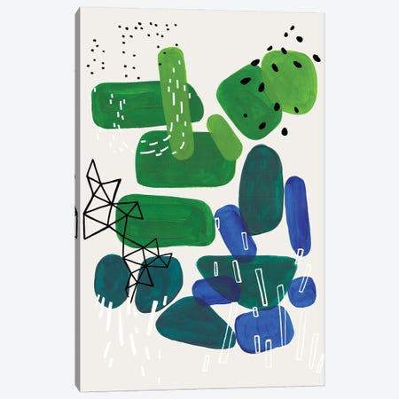 Algae Bloom Canvas Print #ENS310} by EnShape Canvas Wall Art