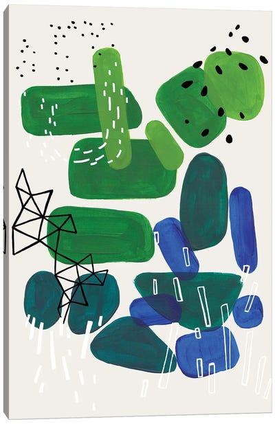Algae Bloom Canvas Art Print