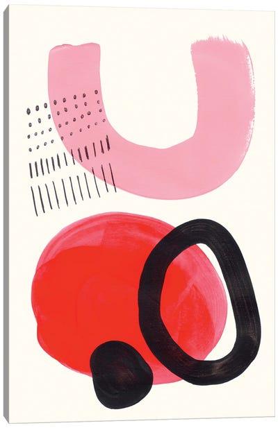 Red Kiss Canvas Art Print