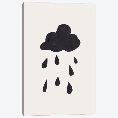 Ink Rain Canvas Print #ENS60} by EnShape Canvas Art Print