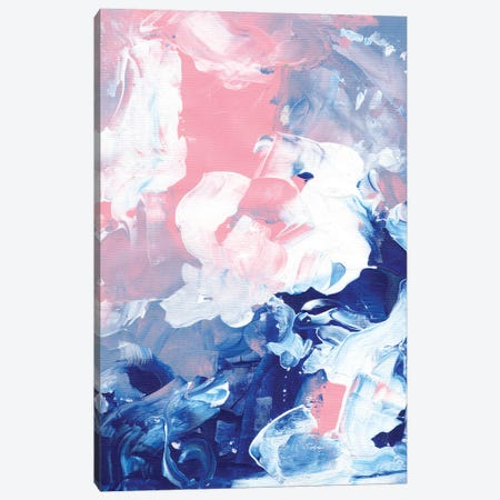 Pink Storm Canvas Print #ENS91} by EnShape Canvas Art