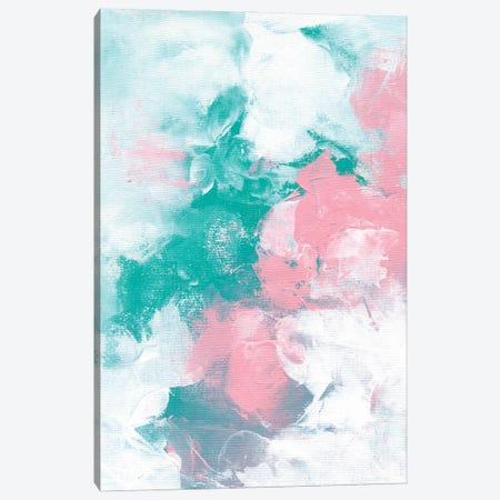 Pink Morning Clouds Canvas Print #ENS94} by EnShape Canvas Art Print