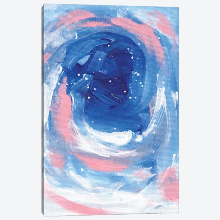 Pink Whirlpool Canvas Print #ENS96} by EnShape Canvas Art Print