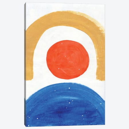 Sunshine Over Sea Canvas Print #ENS98} by EnShape Canvas Wall Art