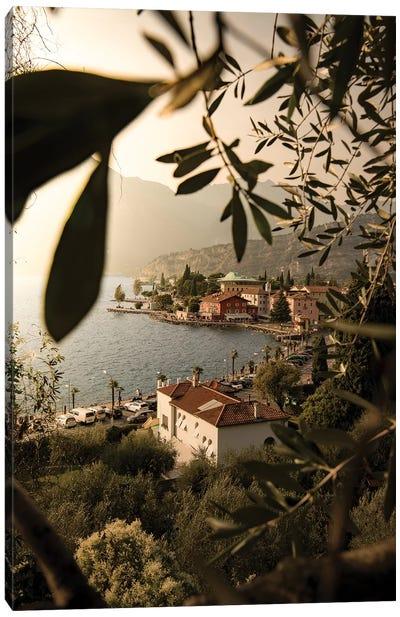 Framed Torbole Lake Garda Canvas Art Print
