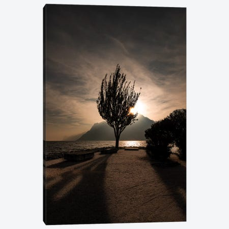 Lake Garda III Canvas Print #ENZ104} by Enzo Romano Canvas Wall Art