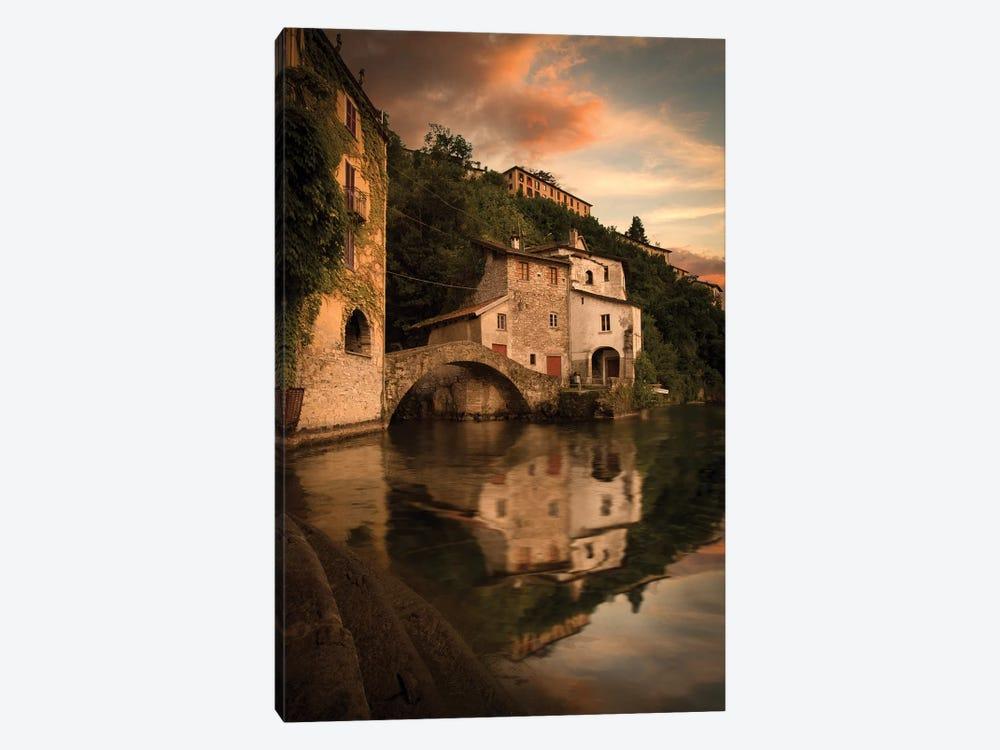 Verwonderend Nesso Lake Como I Canvas Print by Enzo Romano   iCanvas GC-47