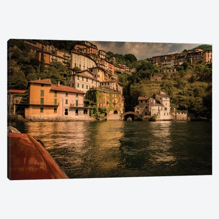 Nesso Lake Como II Canvas Print #ENZ107} by Enzo Romano Canvas Art