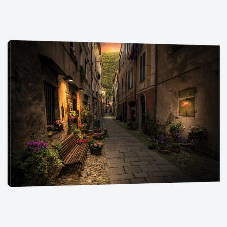 Finalborgo Canvas Print #ENZ111} by Enzo Romano Canvas Artwork