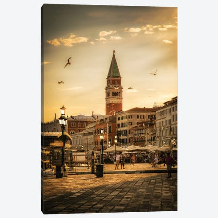 Venice Canvas Print #ENZ113} by Enzo Romano Canvas Artwork