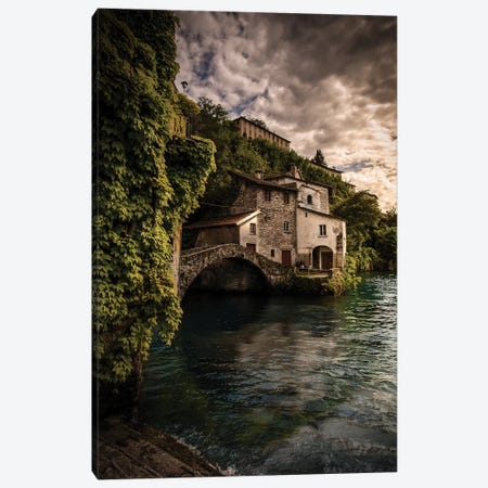 Nesso Canvas Print #ENZ114} by Enzo Romano Art Print