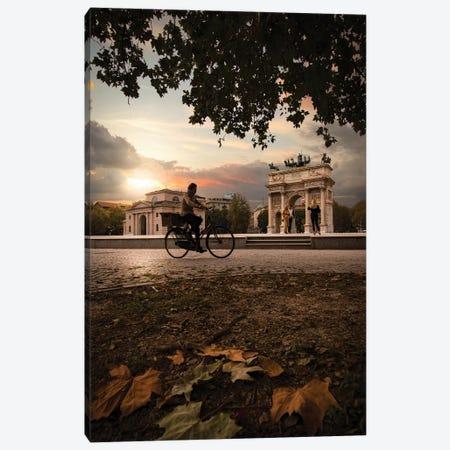 Arco Della Pace, Milan Canvas Print #ENZ115} by Enzo Romano Canvas Print