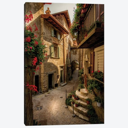 Tremosine Canvas Print #ENZ117} by Enzo Romano Canvas Art Print