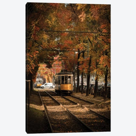 Autumn In Milan Canvas Print #ENZ118} by Enzo Romano Canvas Artwork