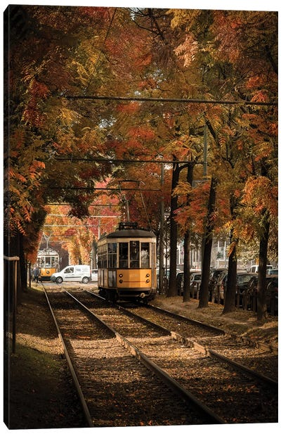 Autumn In Milan Canvas Art Print