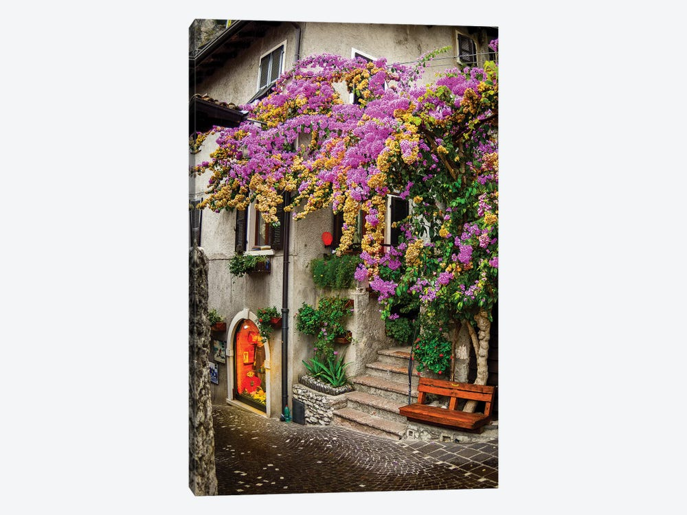 Limone sul Garda I by Enzo Romano 1-piece Canvas Artwork