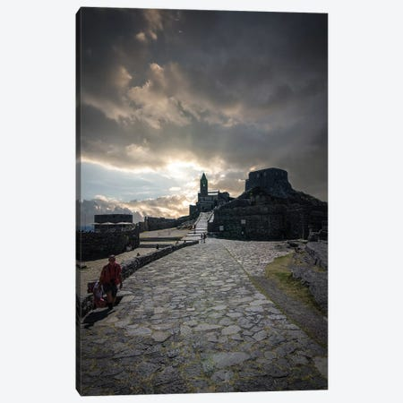 Church Of St. Peter, Porto Venere I Canvas Print #ENZ123} by Enzo Romano Canvas Art Print