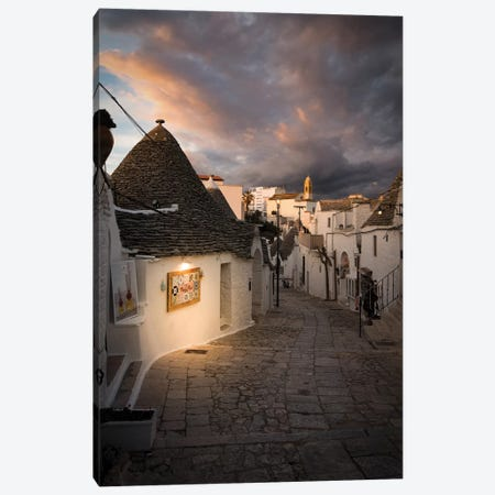 Alberobello, Apulia I Canvas Print #ENZ126} by Enzo Romano Canvas Art